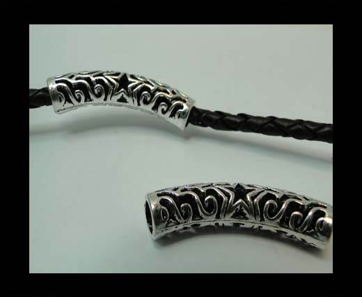 Zamak magnetic claps MGL-365-5mm-Antique Silver