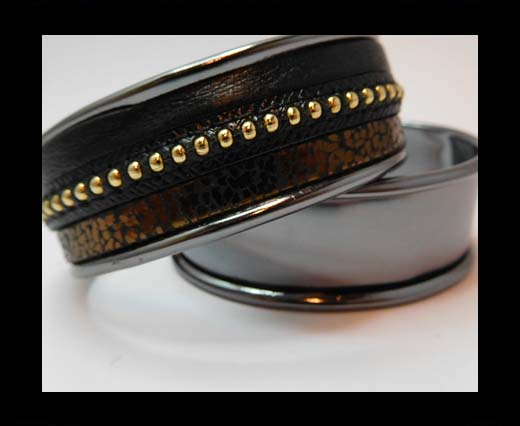 Buy Zamak magnetic claps MGL-383-15mm-Black at wholesale prices