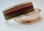Zamak magnetic claps MGL-383-15mm-Rose Gold