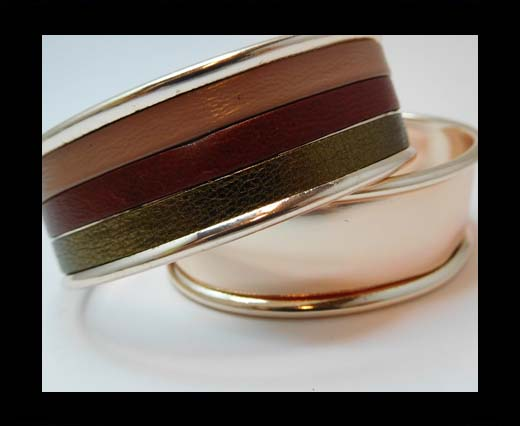Zamak magnetic claps MGL-383-15mm-Rose Gold