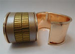 Zamak magnetic claps MGL-383-40mm-Rose Gold