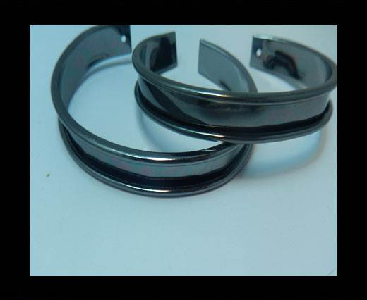 Buy Zamak magnetic claps MGL-383- 5mm - Black at wholesale prices