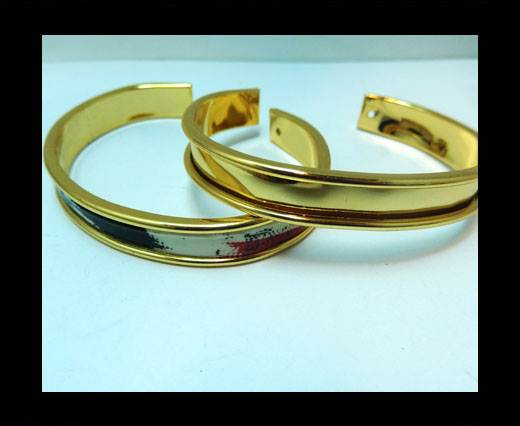 Zamak magnetic claps MGL-383- 5mm - Gold