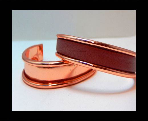 Zamak magnetic claps MGL-383- 5mm - Rose Gold
