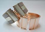 Zamak magnetic claps MGL-387-30mm-Rose Gold