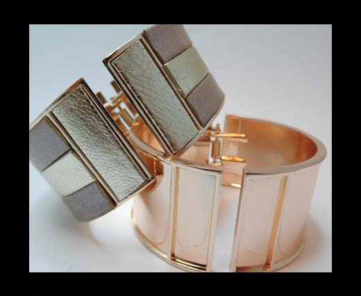 Zamak magnetic claps MGL-387-30mm-Rose Gold