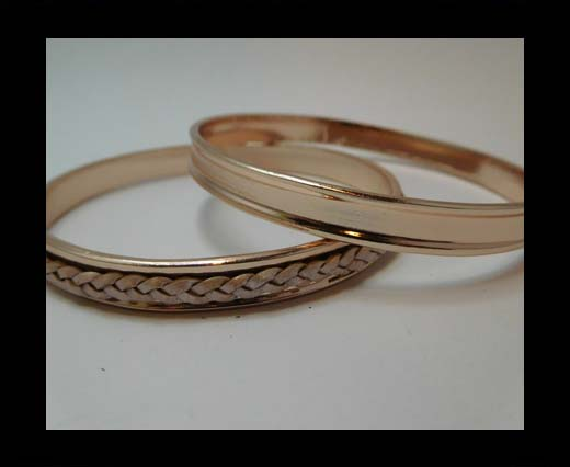 Zamak magnetic claps MGL-390-3mm-Rose Gold