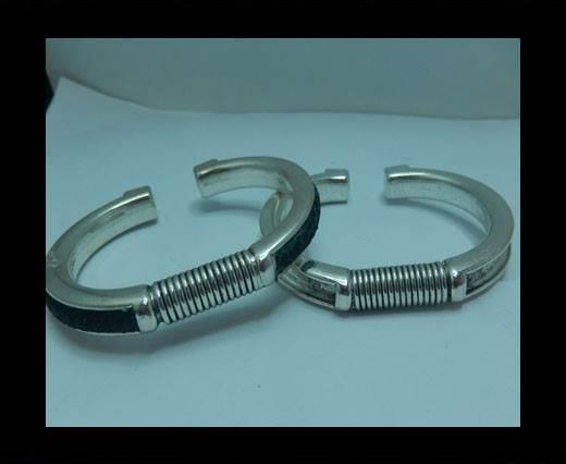Zamak magnetic claps MGL-399 - 5mm - Silver