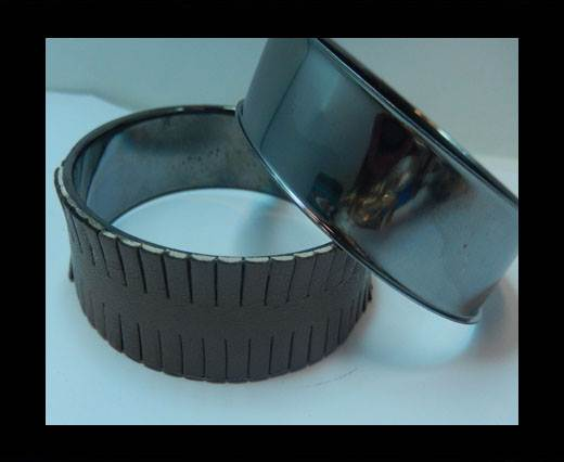 Buy Zamak magnetic claps MGL-400 - 18,5mm- Black at wholesale prices