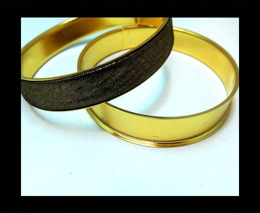 Zamak magnetic claps MGL-400 - 18,5mm- Gold