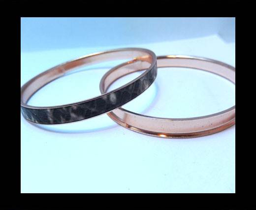 Zamak magnetic claps MGL-400 - 5mm - Rose Gold