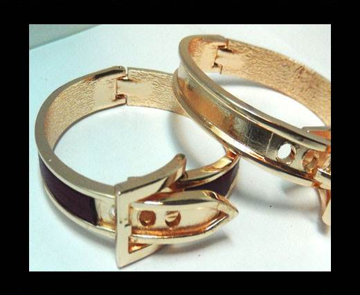 Zamak magnetic claps MGL-403 - 5mm - Rose Gold