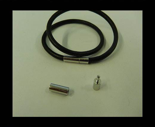 Zamak magnetic claps MGL-6-3MM-STEEL