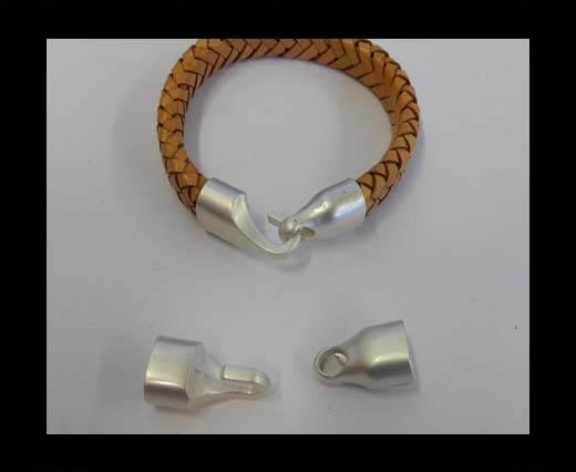 Zamak magnetic claps MGL-74-10*7MM-Y.Silver