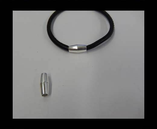 Buy Zamak magnetic claps MGL-8-4mm-Silver at wholesale prices