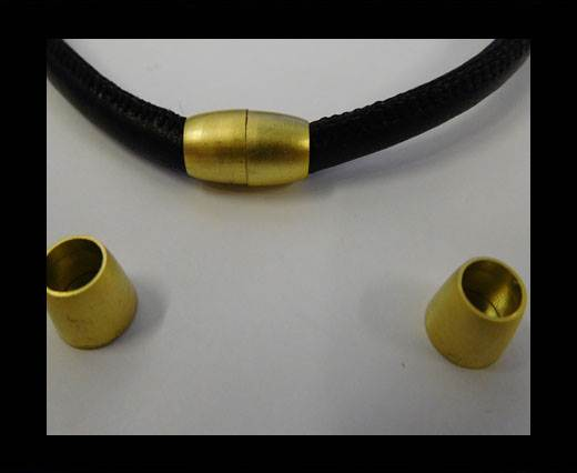Zamak magnetic claps MGL-8-6MM-GOLD MATT