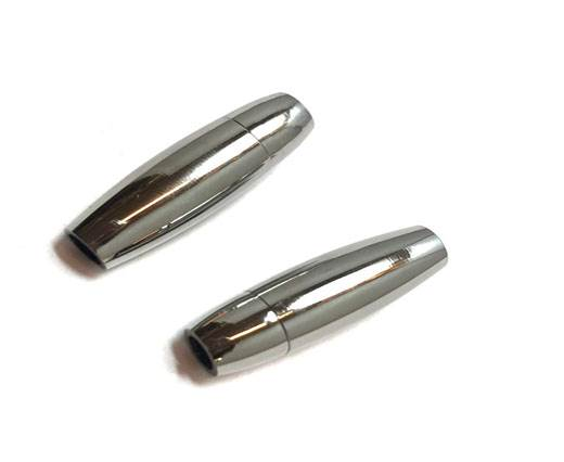 Stainless Steel Magnetic Clasp,Steel,MGST-05 4mm