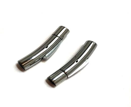 Stainless Steel Magnetic Clasp,Steel,MGST-06 4mm