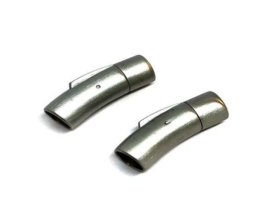 Stainless Steel Magnetic Clasp,Matt,MGST-06 9mm