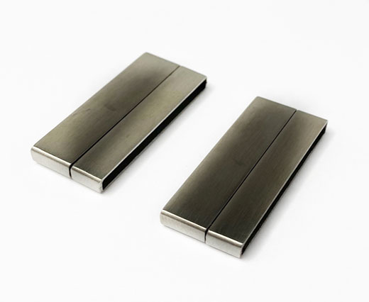 Stainless Steel Magnetic Clasp,Matt,MGST-105-30,5*7,5mm