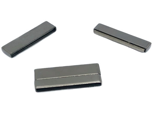 Stainless Steel Magnetic Clasp,Steel,MGST-105-30*2,5mm