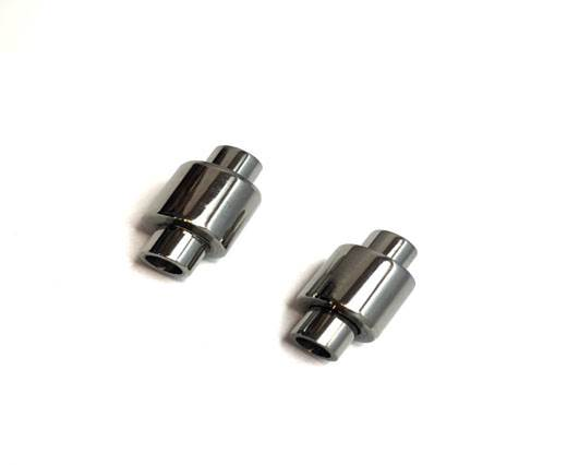 Stainless Steel Magnetic Clasp,Steel,MGST-11 4mm