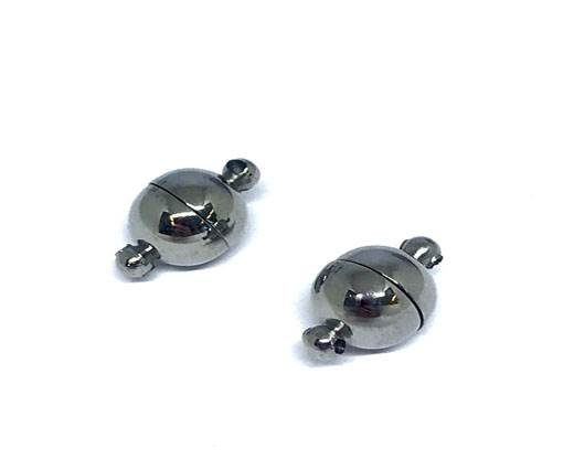 Stainless Steel Magnetic Clasp,Steel,MGST-20 8mm