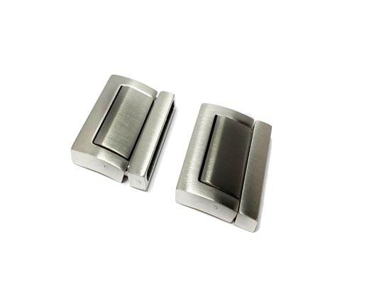 stainless steel magnetic clasp MGST-218-30*3mm-Matt