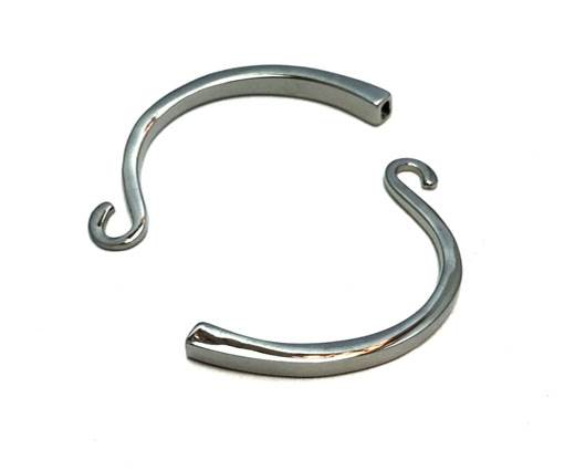 Stainless Steel Anchor Clasp,Steel,MGST-226-4*2mm