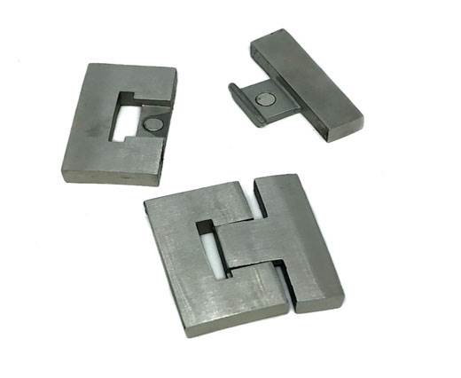 Stainless Steel Magnetic Clasp,Matt,MGST-274-40mm