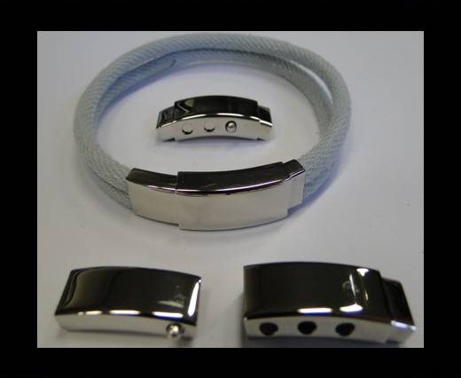 Stainless Steel Magnetic Clasps - MGST-120-8*4mm