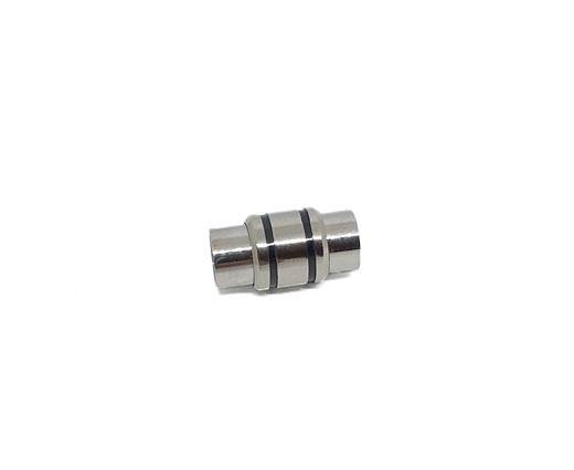 Stainless Steel Magnetic Clasp,Steel,MGST-127-6mm-01