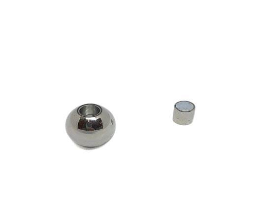 Stainless Steel Magnetic Clasp,Steel,MGST-128-6mm-01