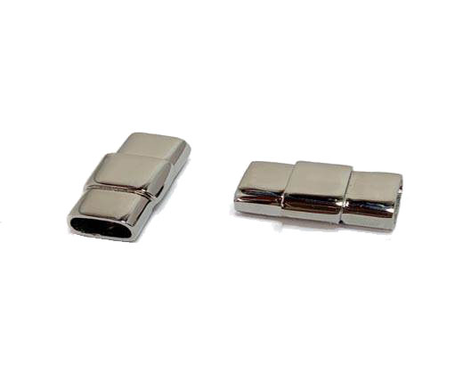 Stainless Steel Magnetic clasps - MGST-145-10,5*4,3mm