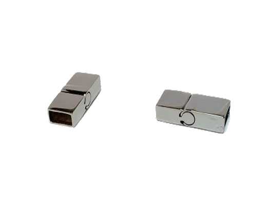 Stainless Steel Magnetic Clasps - MGST-146-8*4mm