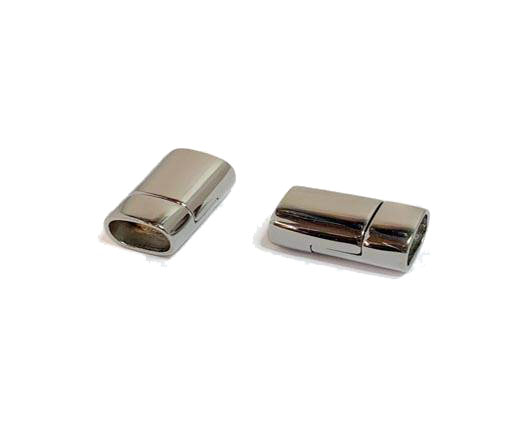 Stainless Steel Magnetic clasps - MGST-156-10*7mm-Steel