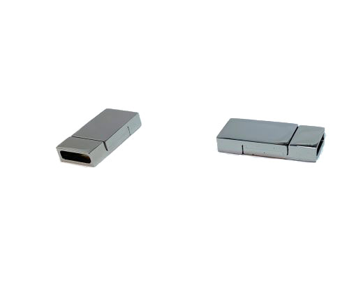 Stainless Steel Magnetic Clasps - MGST-223-8*3mm-Steel