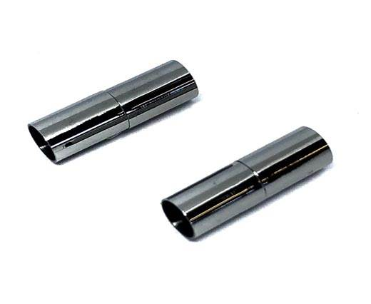 Stainless Steel Magnetic Clasp,Matt Steel,MGST-36 6mm