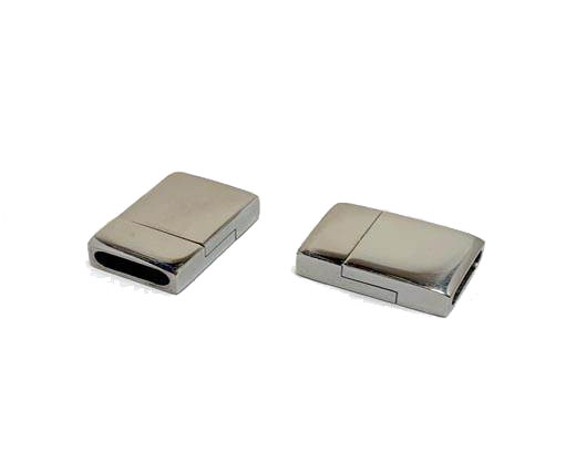 Stainless Steel Magnetic clasps - MGST-64-10*2.5mm-Steel
