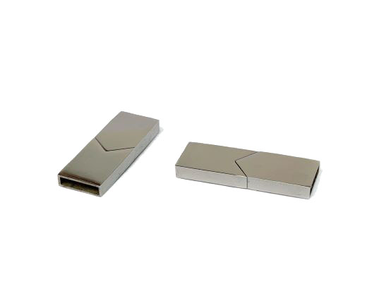 Stainless Steel Non-Magnetic clasps - MGST-91-9-by-3 mm