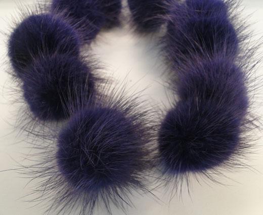 Mink-Purple Blue-40mm