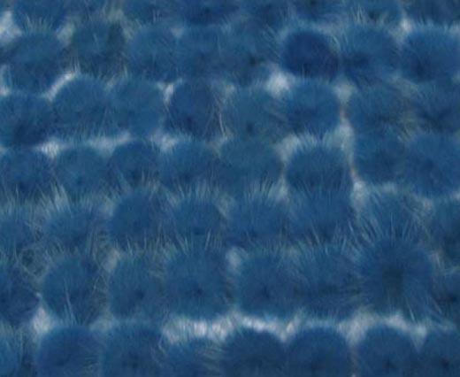 Mink Pom Pom Bermuda Blue