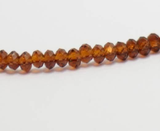 Faceted Glass Beads-2mm-MOKKA