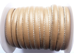 Synthetic nappa leather 4mm - Beige
