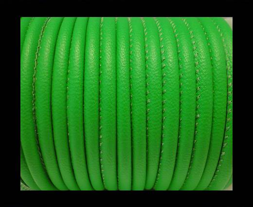 Faux napppa leather 4mm - Neon Green