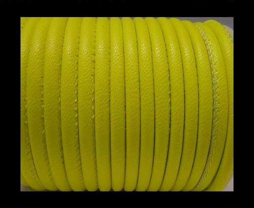Faux nappa leather 4mm - Neon Yellow