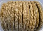 faux nappa leather 4mm Snake-Dotted-Style-Beige