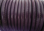 imitation Nappa leather 6mm - Purple