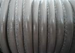 Faux nappa leather 6mm- Khakhi