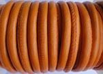 imitation Nappa leather 6mm - Orange